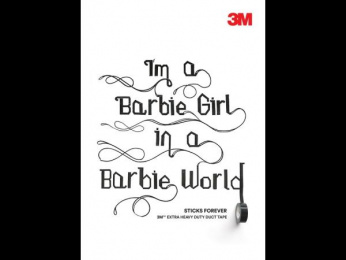 3M: Barbie Girl, 4 Outdoor Advert by Cheil Germany