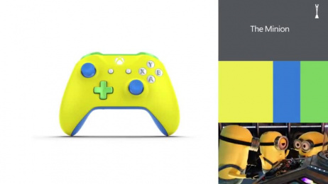 Xbox Design Lab: The Fanchise Model Print Ad by McCann London