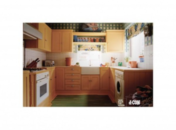 D-con Mouse Exterminator: KITCHEN Print Ad by Euro Rscg New York