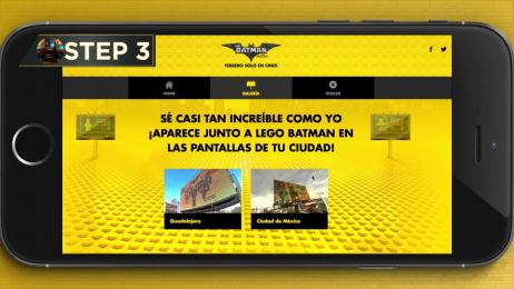 Warner Bros.: Lego Batman Outdoor Advert by Circus