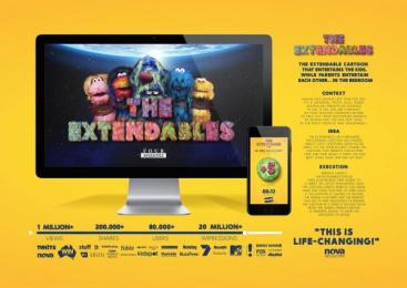 Four Seasons Condoms: The Extendables [image] Digital Advert by Marcel Paris