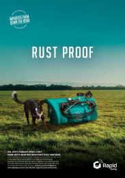 Rapid Spray: Rust Proof Print Ad by Redhanded