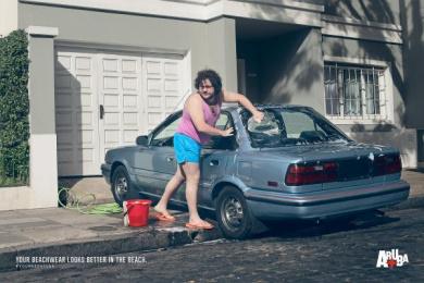 Aruba: Car Print Ad by MullenLowe SSP3 Bogota