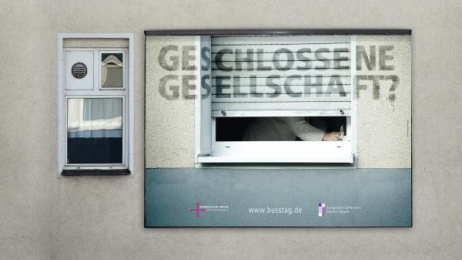 EKKW: Geschlossene Gesellschaft Print Ad by Orange Cube Hamburg