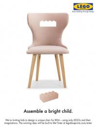 IKEA: Assemble A Bright Child Print Ad by Miami Ad School San Francisco