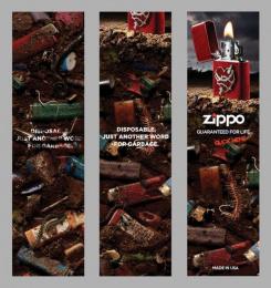 Zippo Pocket Lighter: Banner Digital Advert by Brunner Pittsburgh