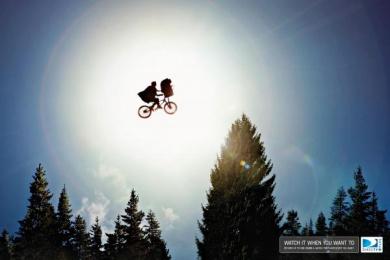 Directv Plus: ET Print Ad by Leo Burnett Bogota