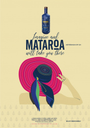 Mataroa: Imagine, 1 Print Ad by Mr. Brain Propaganda