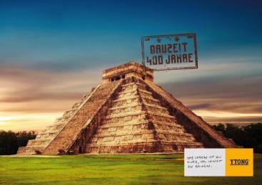 Xella: Building Times – Pyramid Print Ad by Heimat Wien