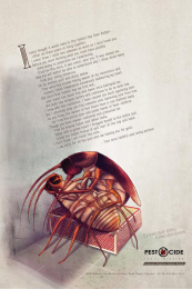Pest'O'Cide: Epic Tearjerkers Print Ad by Chirpy Elephant