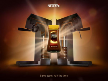 Nescafe: Same Taste, 1 Print Ad by Team collaboration