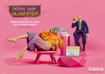 Bankia: Digital Humanism, 4 Print Ad by Attic Films, CLV Madrid