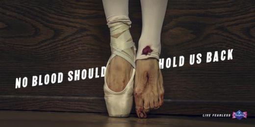 Bodyform: Blood Print Ad by AMV BBDO London, Stink