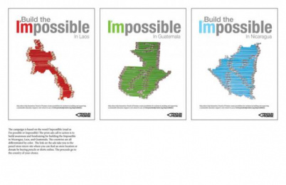 Pencils of Promise: Build the I'mpossible Integrated, 5 Digital Advert by Columbus College of Art and Design (CCAD)