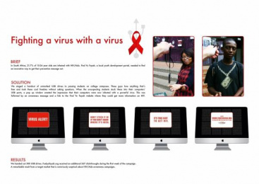 Find Yo Fayah: FIGHTING A VIRUS WITH A VIRUS Outdoor Advert by Grey Johannesburg