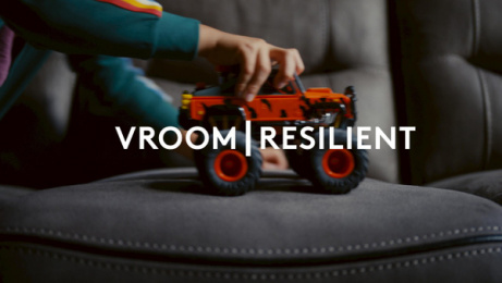 DFS: Resilience Fabric, 3 Print Ad by Krow Communications, Outsider