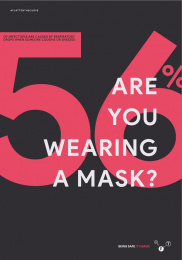 World Health Organization/ WHO: Facts to safe -  Are you wearing a mask? Print Ad by Grow Advertising Group, Bogotá, Colombia