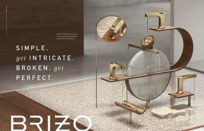 Brizo: Counter/Balance, 6 Print Ad by Young & Laramore