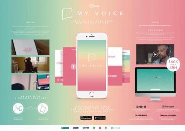 My Voice App: My Voice [image] Digital Advert by (h) FILMS, McCann Milan