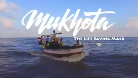 Kinetic Engineering: Mukhota - the life saving mask Ambient Advert by Kinetic Singapore