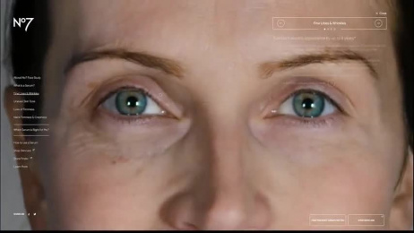 Boots №7: Face Study, 2 Digital Advert by studio art & commerce, Unit 9 London