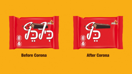 Keef Kef: The Israeli Chocolate Bar That's Fighting the Corona Virus, 2 Print Ad by BBR Saatchi & Saatchi Israel