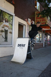 The Drive Skate Shop: The Drive Skate Shop Print Ad by Rethink