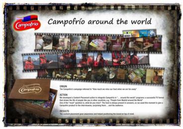 Campofrio: AROUND THE WORLD Promo / PR Ad by Breikinruls, Zenithmedia