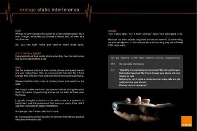 Low Rate Calls: STATIC Print Ad by Leo Burnett Iberia Madrid