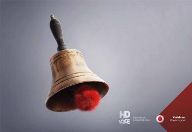 Vodafone: HD Voice, 1 Print Ad by JWT Albania