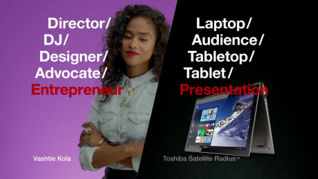 Toshiba: Vashtie Kola for Toshiba's #SlashGen - Entrepreneur Film by Deep Focus, Robot Films
