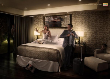 Web·C: Bedroom Print Ad by Punto Ogilvy & Mather Montevideo