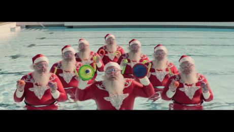 Aldi: Synchronised Santas Film by BMF Sydney, Goodoil Films