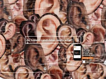Valongo Fact-Checking: New website Valongo Fact-Checking, 3 Print Ad by Capim.AG