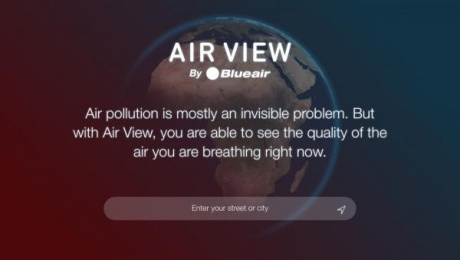 Blue air: Air View [image] 5 Digital Advert by Burson-Marsteller
