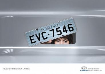 Hyundai: Rear view Camera 2 Print Ad by Z+ Sao Paulo