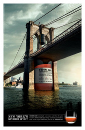 Widow Jane: Brooklyn Bridge Print Ad by Team collaboration