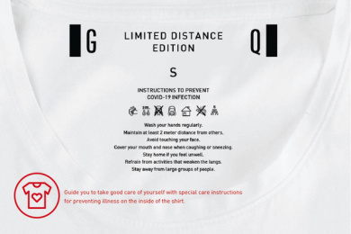 GQ Apparel: GQ Limited Distance Edition, 5 Design & Branding by Rabbit Digital Group, Thailand