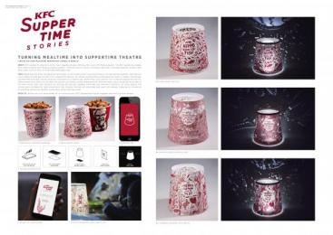 Kentucky Fried Chicken (KFC): Kfc Suppertime Stories [presentation image] Design & Branding by Darling Films, Ogilvy Johannesburg