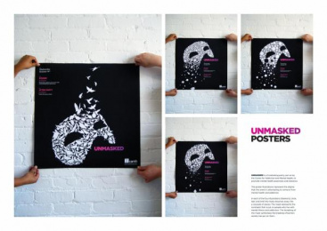 CENTRE FOR ADDICTION AND MENTAL HEALTH: UNMASKED Design & Branding by Zig Toronto