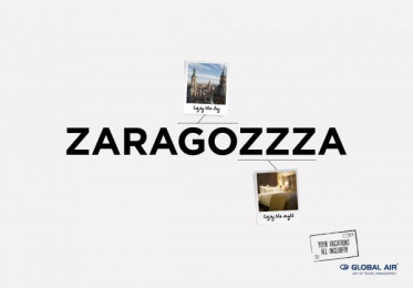 Global Air: Zaragoza Print Ad by Cheil Kazakhstan
