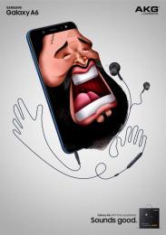 Samsung: Pavarotti Print Ad by Cheil Kazakhstan