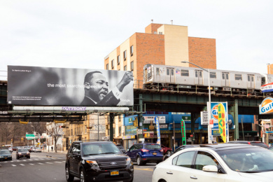 Google: The Most Searched, 4 Outdoor Advert by Google Brand Studio / San Francisco