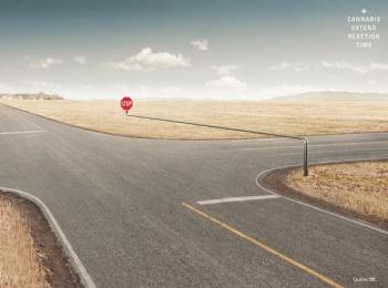 Societe Assurance Automobile Du Quebec (SAAQ): Stop Print Ad by Lg2 Quebec