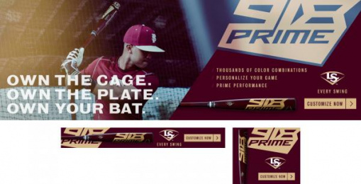 Louisville Slugger: Baseball, 3 Digital Advert by Young & Laramore