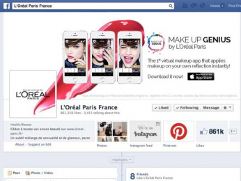L'Oreal: Make Up Genius, 3 Digital Advert by McCann Paris, Image Metrics