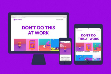 Telia: Telia Company Digital Design [image] 7 Digital Advert by Wolff Olins