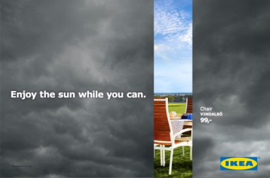 IKEA: Don't Miss the Summer, 1 Outdoor Advert by DDB Brussels