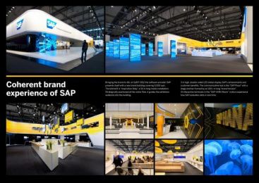 Sap Technology Systems: SAP BRAND EXPERIENCE AT CEBIT 2012 Design & Branding by Zeichen & Wunder