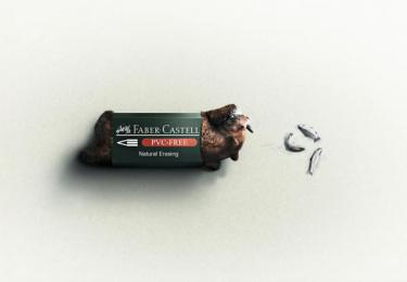 Faber-Castell: Bear Print Ad by Inbrax Santiago